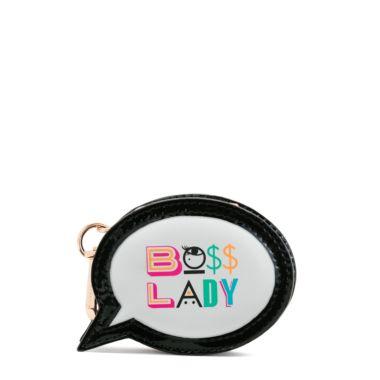 'Boss Lady' mini coin purse
