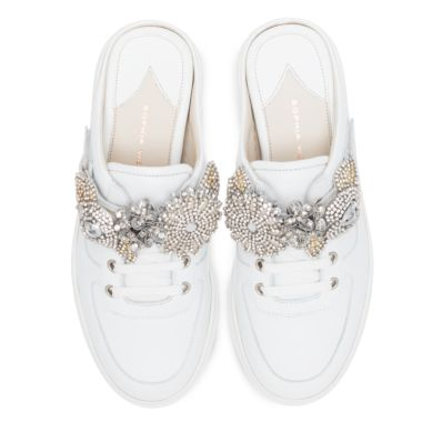 LILICO JESSIE CRYSTAL-EMBELLISHED TRAINERS