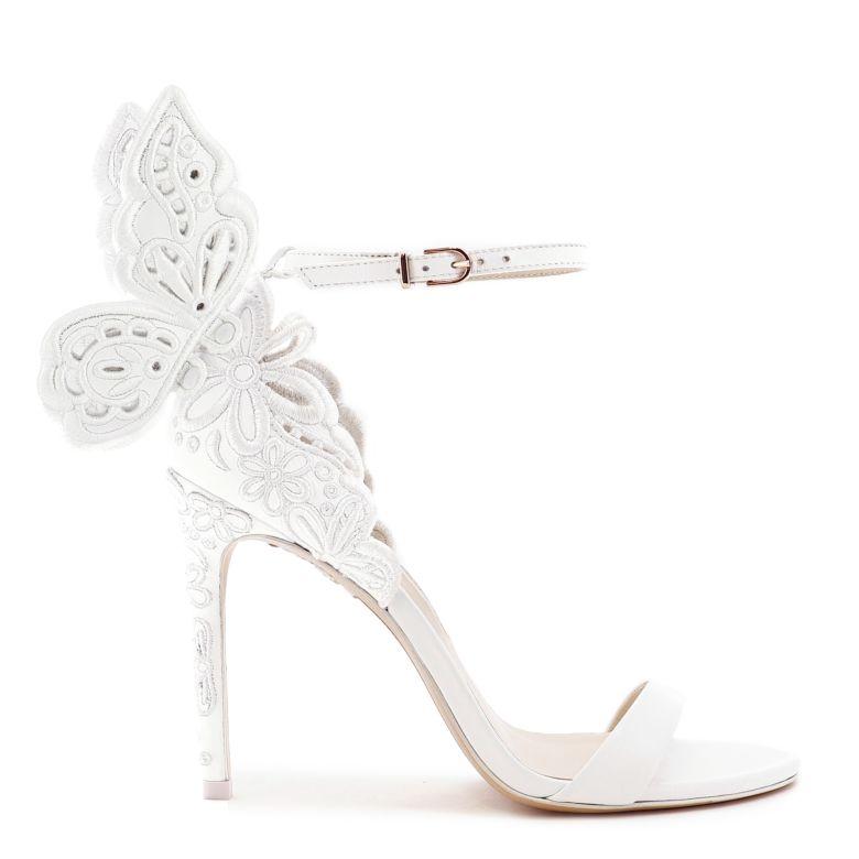 Chiara Butterfly Broderie Sandal
