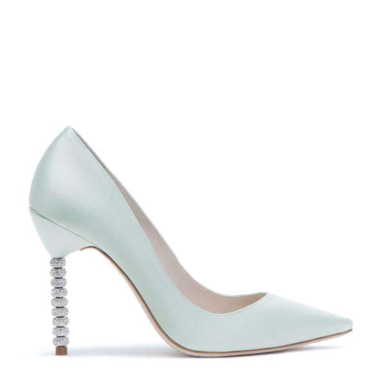 Coco crystal ice blue sophia webster for Sophia webster wedding shoes