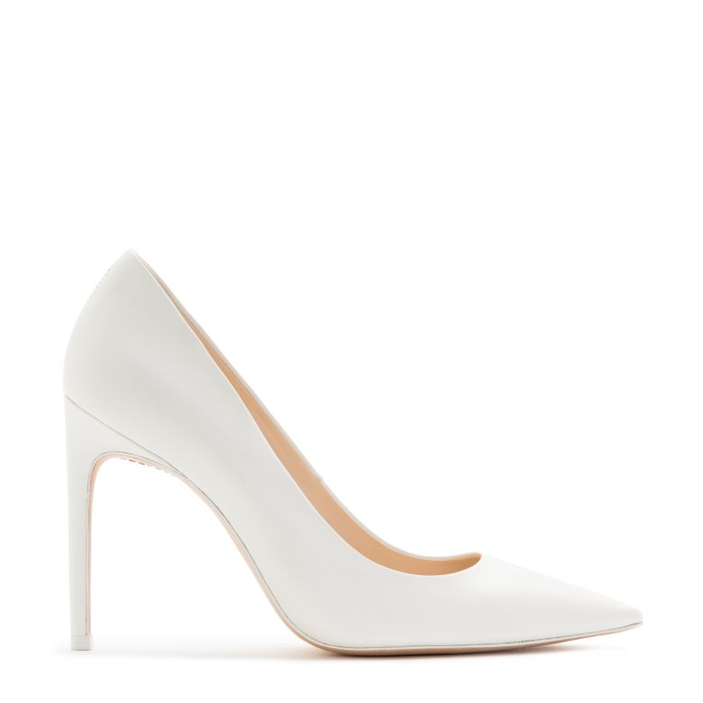 f5d03abc08c Sophia Webster Rio High-Heel Calf Leather Pumps In White