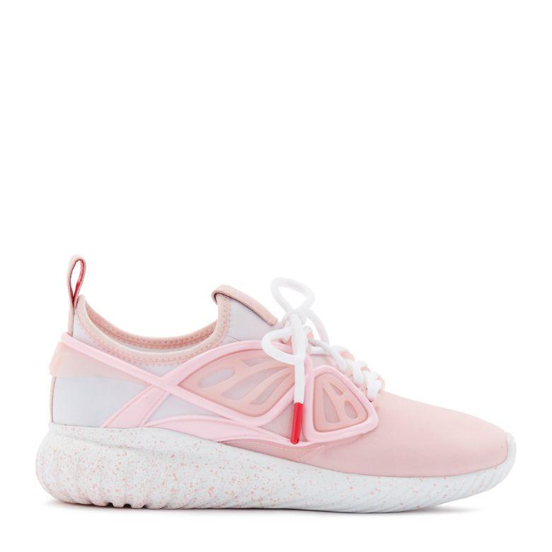 Sophia Webster Fly-By Sneakers In Sophia Pink Ombre