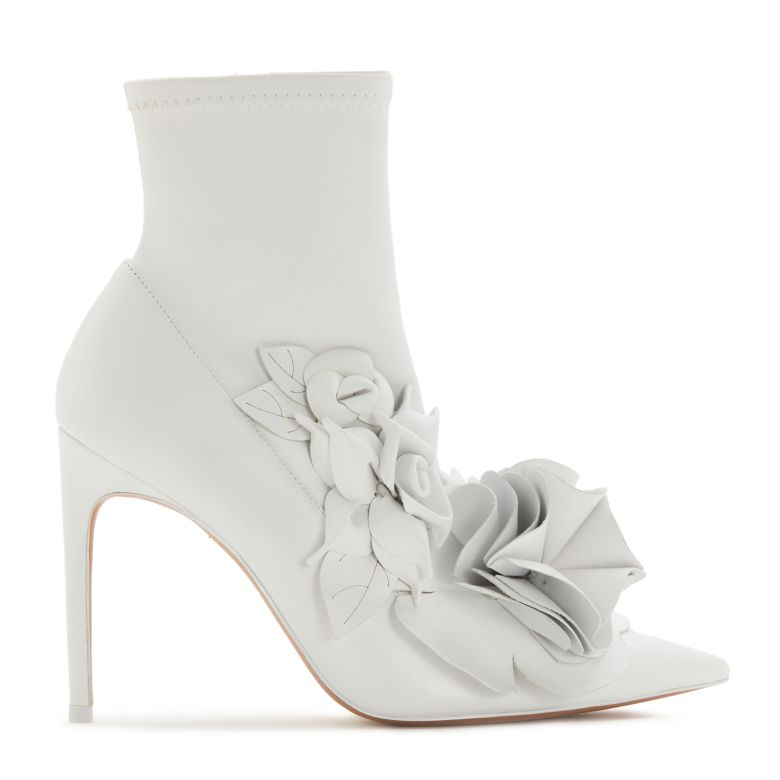Exclusive To Mytheresa - Jumbo Lilico Leather Ankle Boots in White