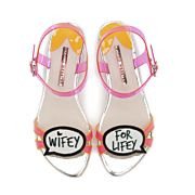 d5734110bcc4 Wifey for Lifey Bridal Sandals