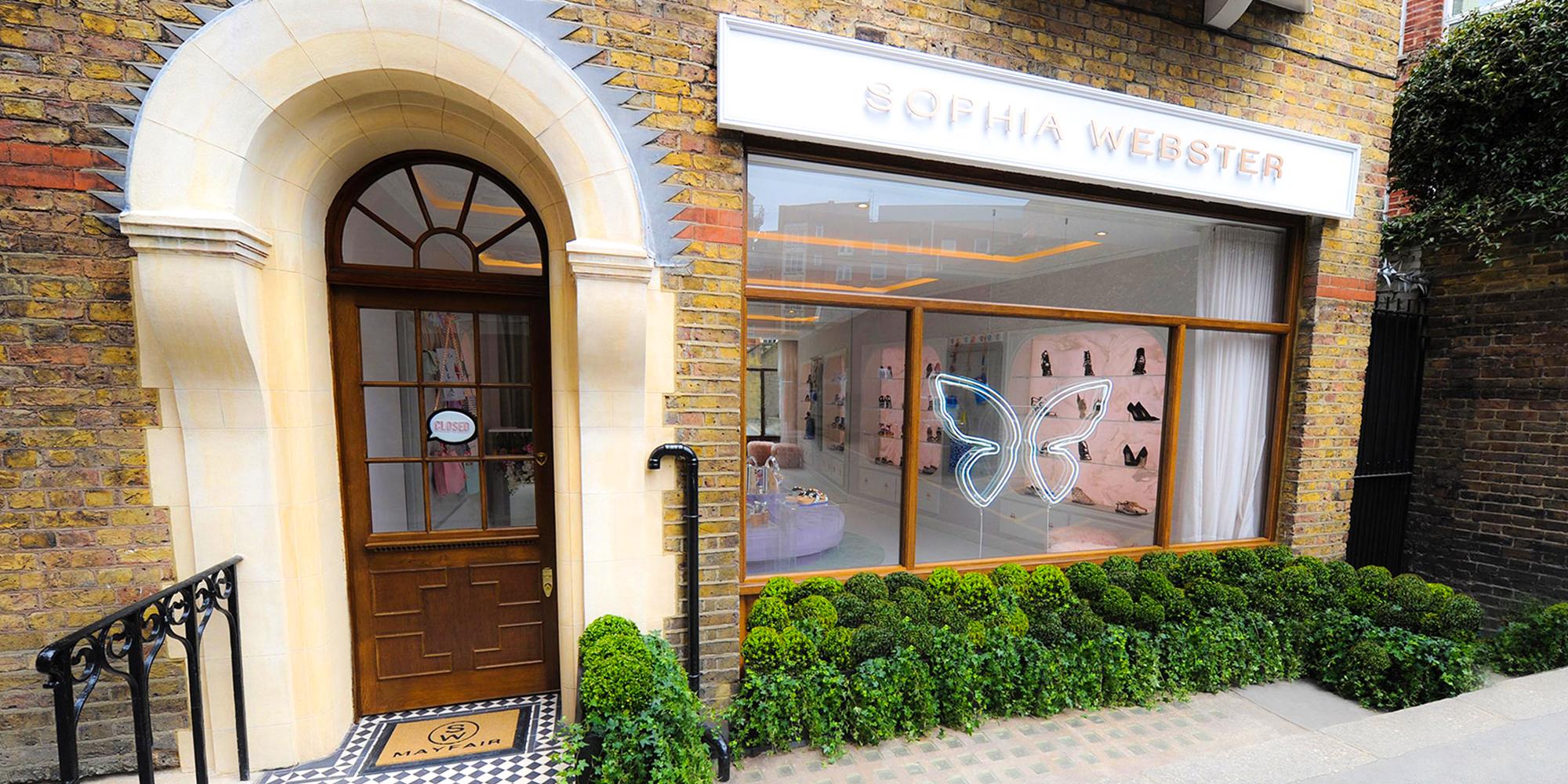 Sophia Webster Mount Street Store