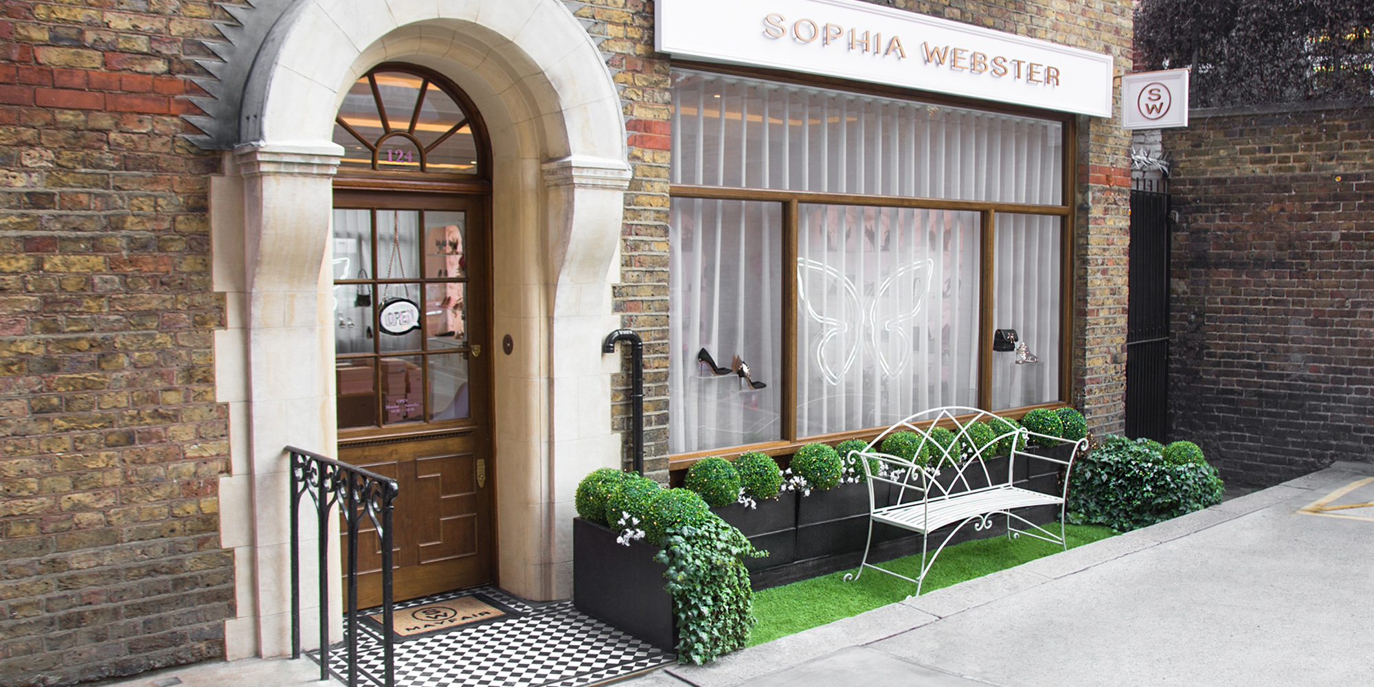 Sophia Webster Mayfair Store Shop Front